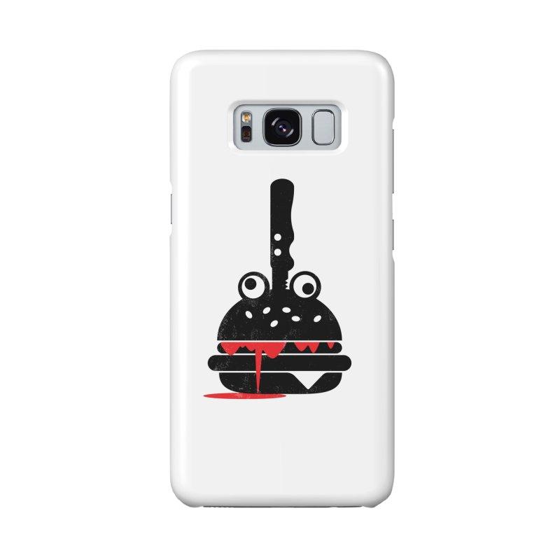 Burger Murder Accessories Phone Case by Avo G'day!