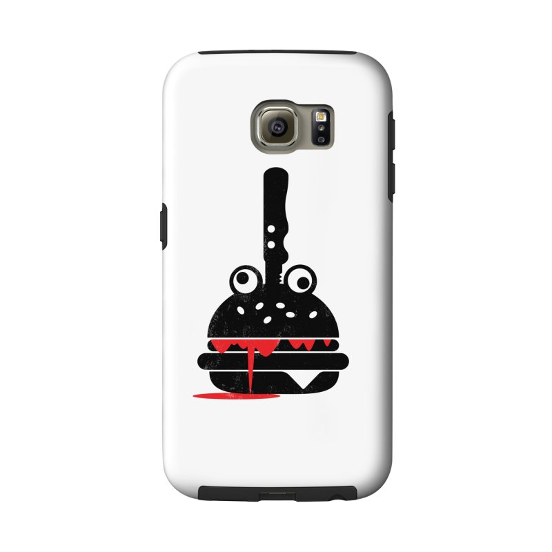 Burger Murder Accessories Phone Case by Avo G'day!