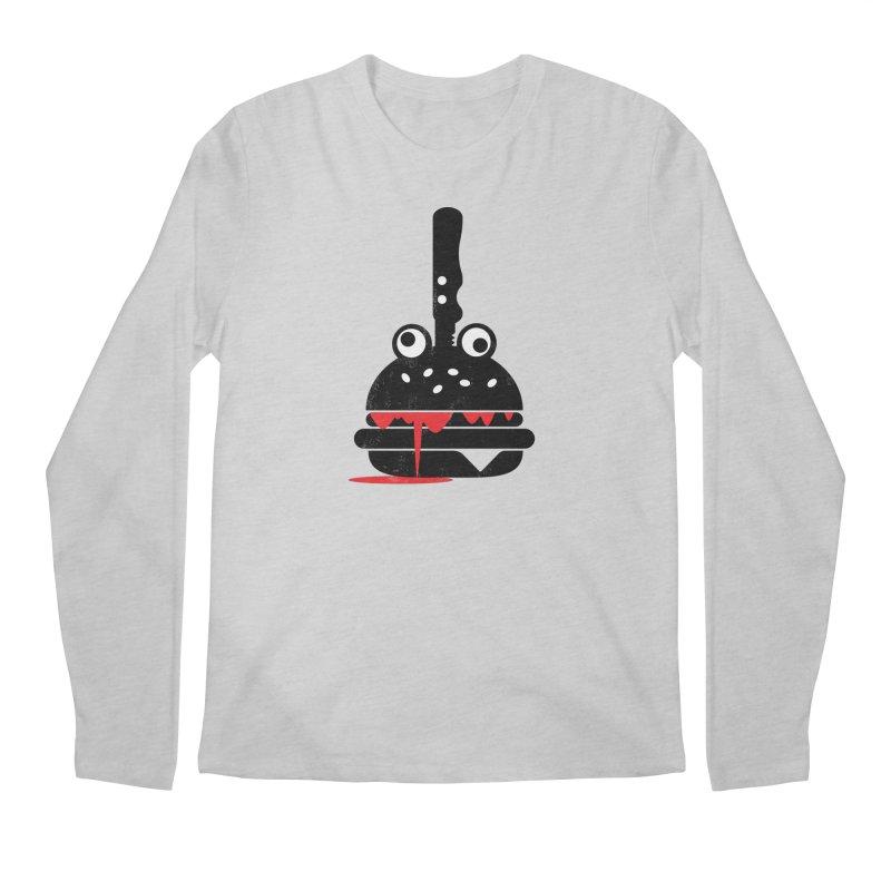 Burger Murder Men's Longsleeve T-Shirt by Avo G'day!