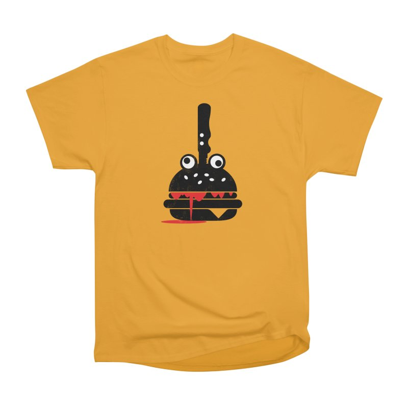 Burger Murder Men's Heavyweight T-Shirt by Avo G'day!