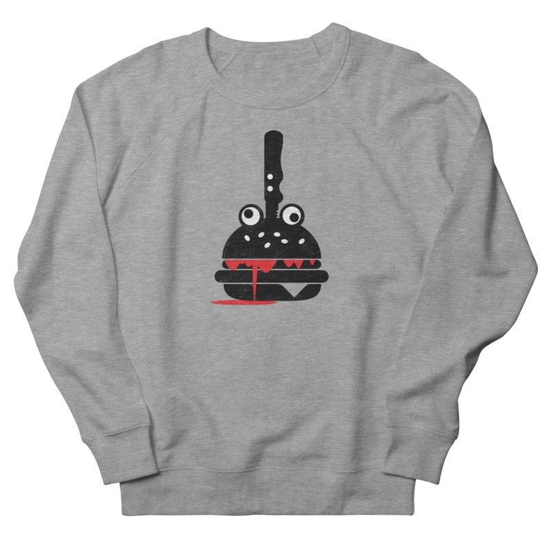 Burger Murder Women's French Terry Sweatshirt by Avo G'day!