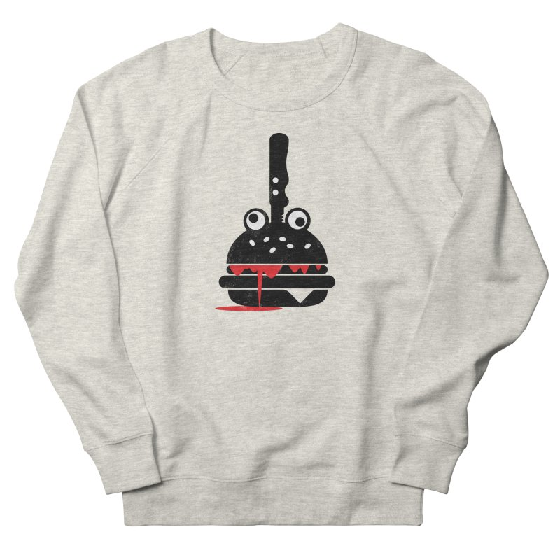Burger Murder Women's Sweatshirt by Avo G'day!
