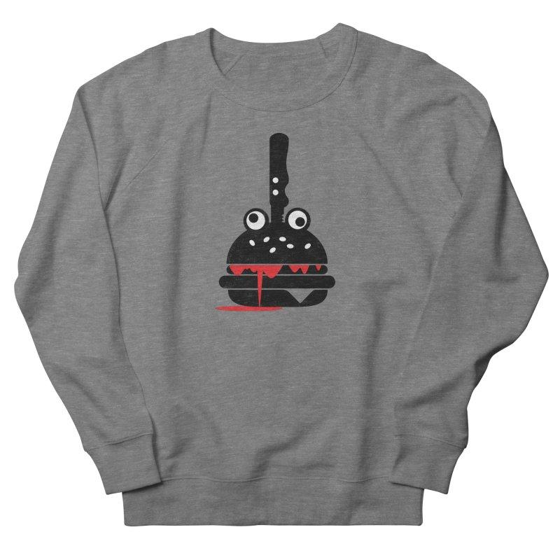 Burger Murder Men's French Terry Sweatshirt by Avo G'day!