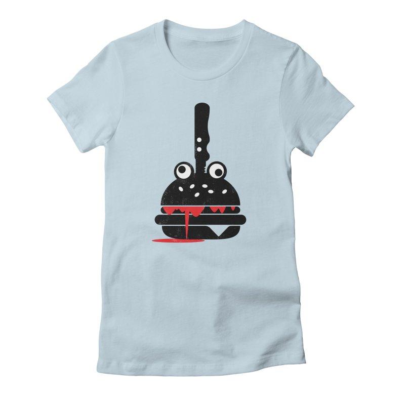 Burger Murder Women's T-Shirt by Avo G'day!