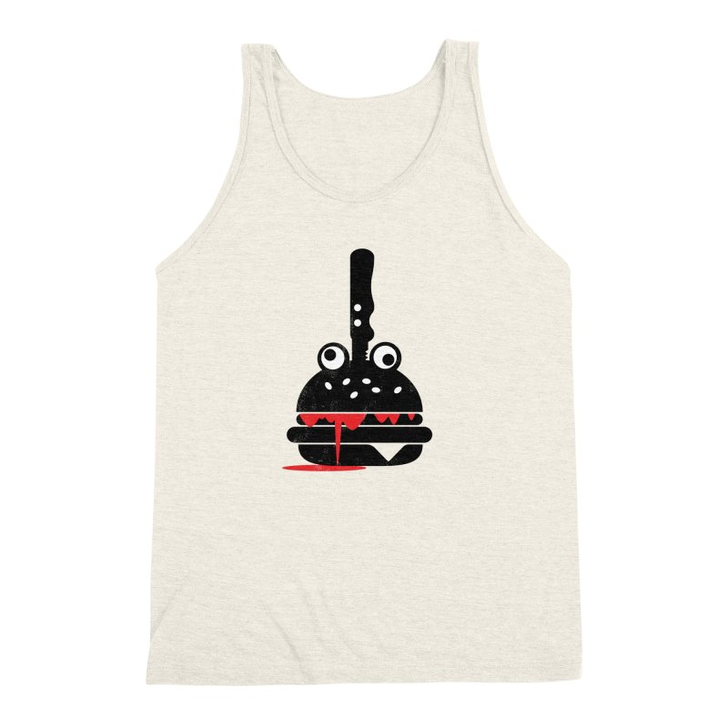 Burger Murder Men's Triblend Tank by Avo G'day!