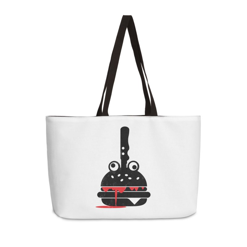 Burger Murder Accessories Weekender Bag Bag by Avo G'day!