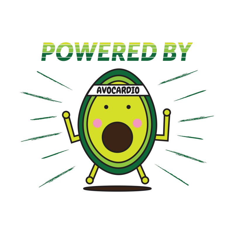 Powered by Avocado Kids Baby T-Shirt by Avo G'day!
