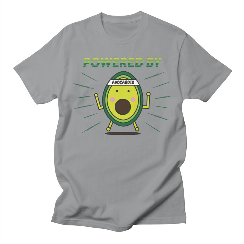 Powered by Avocado Men's Regular T-Shirt by Avo G'day!