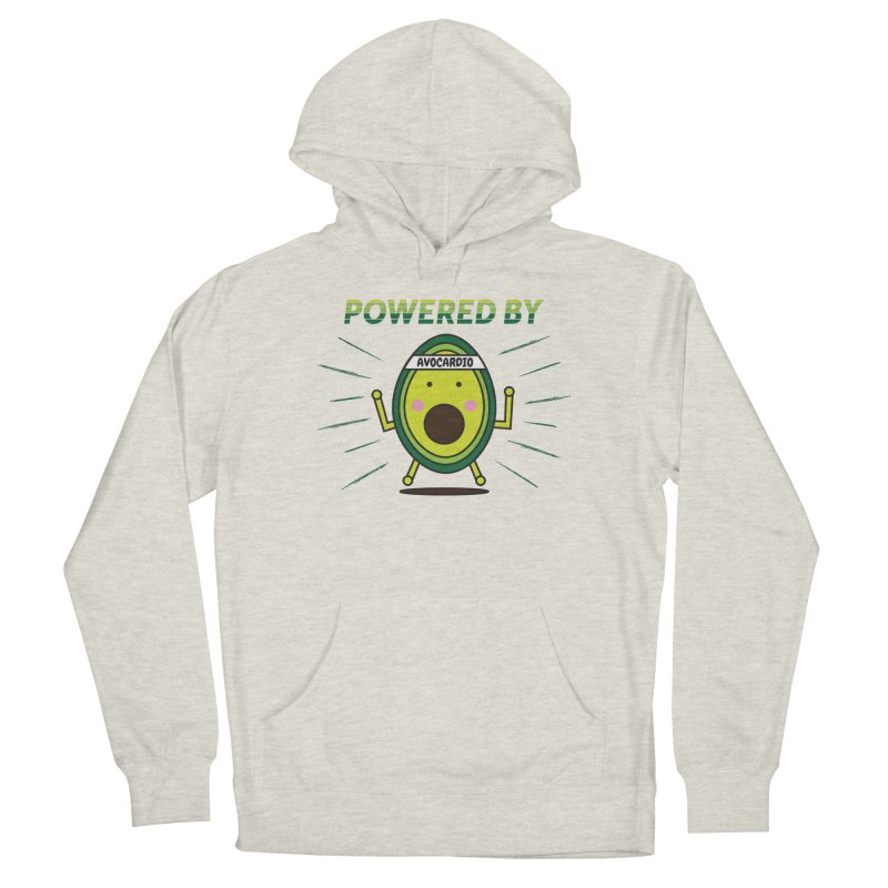 Powered by Avocado Men's French Terry Pullover Hoody by Avo G'day!
