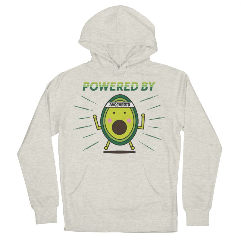 Powered by Avocado Women's French Terry Pullover Hoody by Avo G'day!