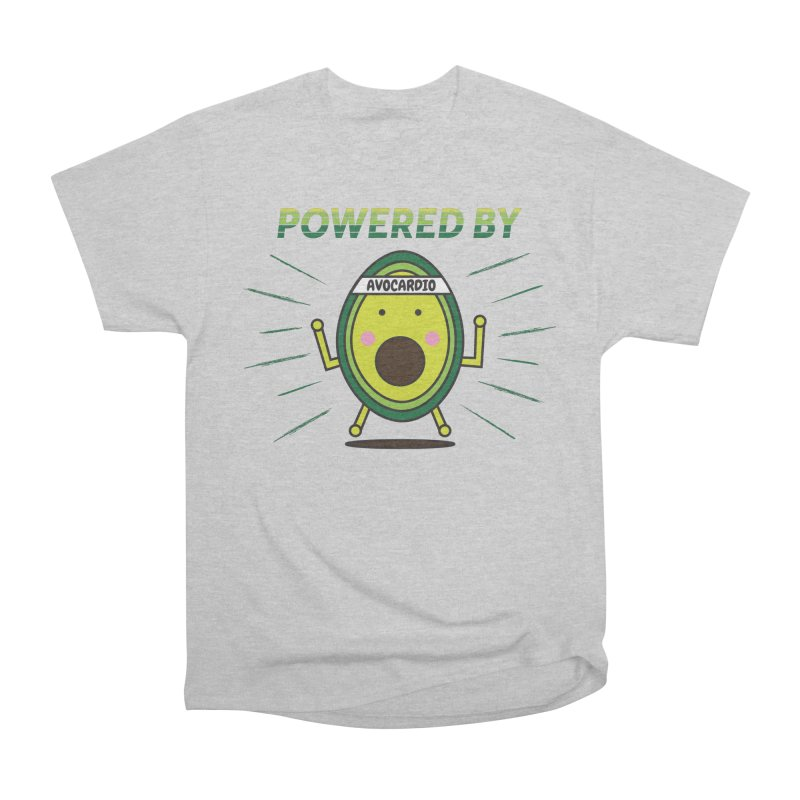 Powered by Avocado Men's Heavyweight T-Shirt by Avo G'day!