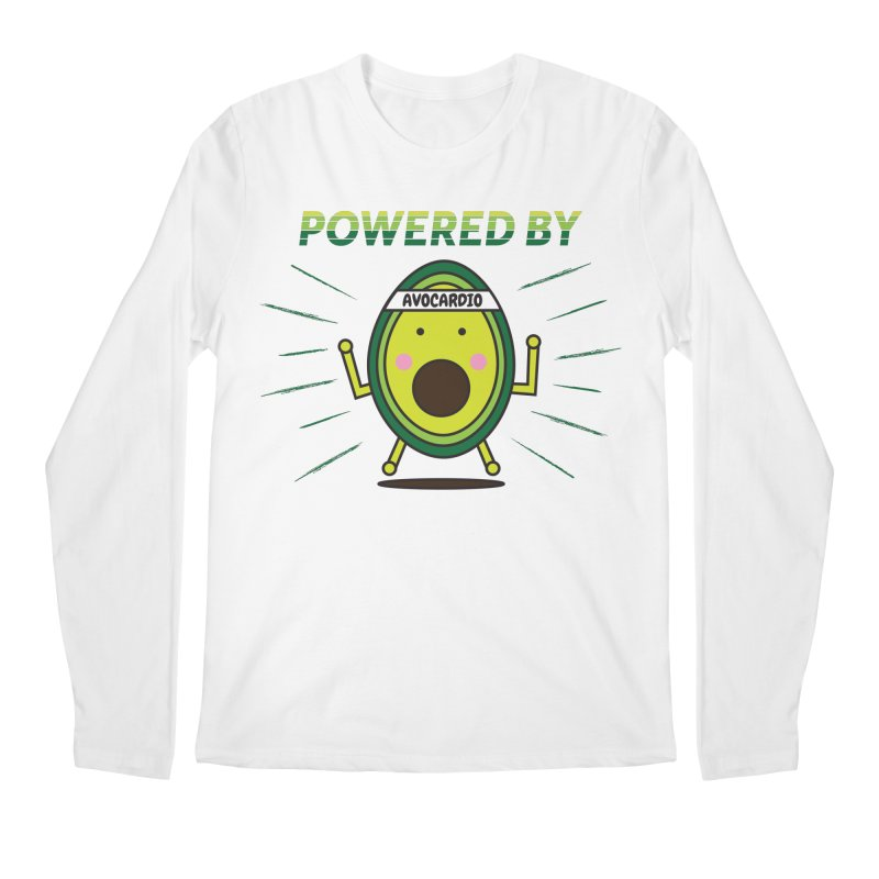 Powered by Avocado Men's Regular Longsleeve T-Shirt by Avo G'day!