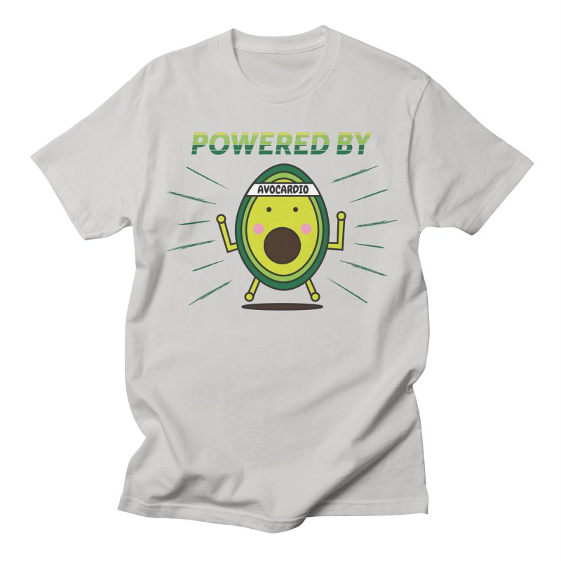 Powered by Avocado Men's T-Shirt by Avo G'day!