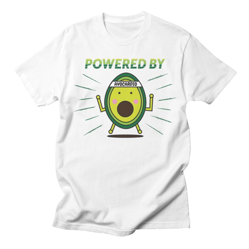 Powered by Avocado Men's Regular T-Shirt by Avo G'day!