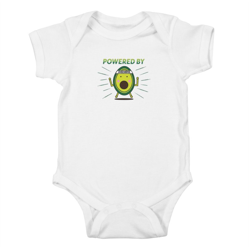 Powered by Avocado Kids Baby Bodysuit by Avo G'day!