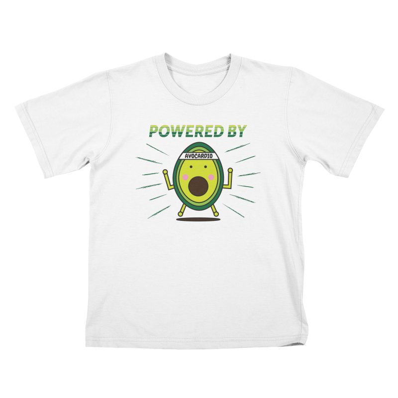 Powered by Avocado Kids T-Shirt by Avo G'day!