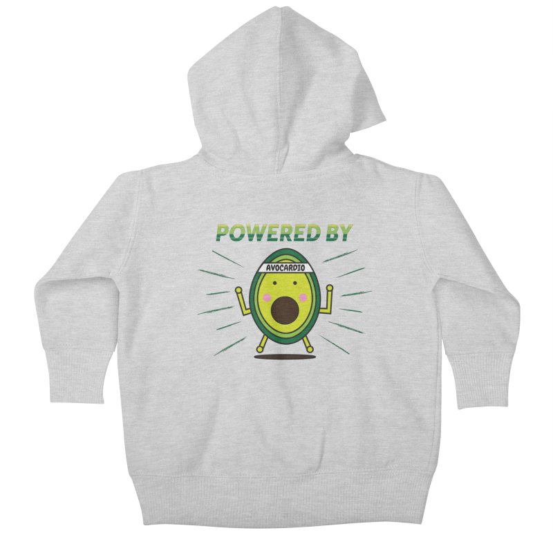 Powered by Avocado Kids Baby Zip-Up Hoody by Avo G'day!