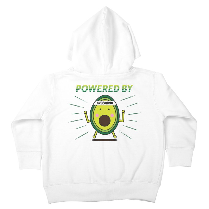Powered by Avocado Kids Toddler Zip-Up Hoody by Avo G'day!
