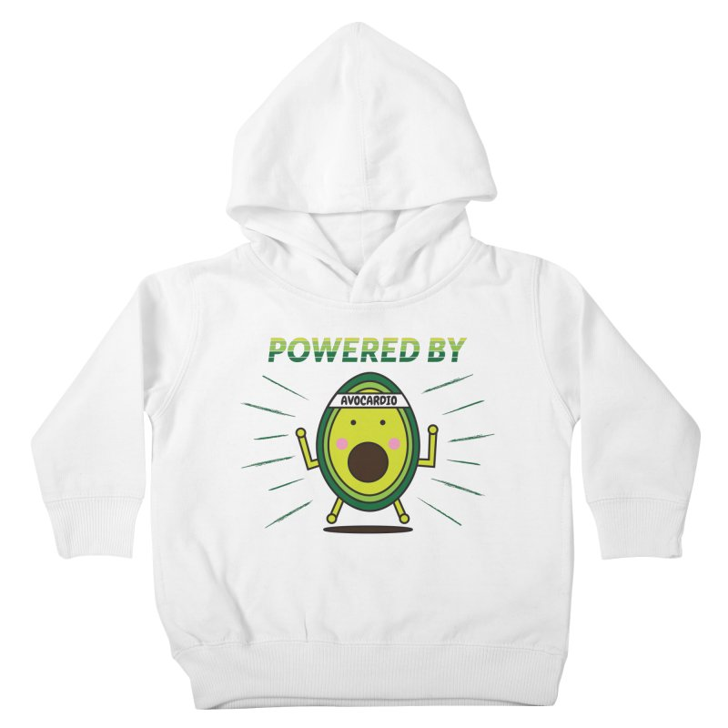 Powered by Avocado Kids Toddler Pullover Hoody by Avo G'day!