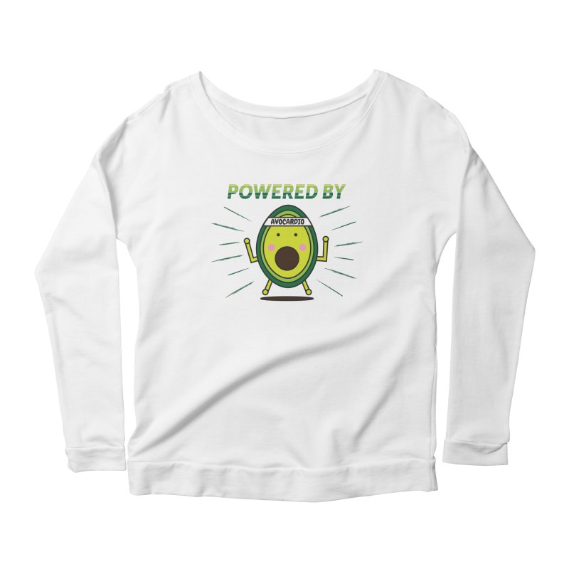 Powered by Avocado Women's Longsleeve T-Shirt by Avo G'day!