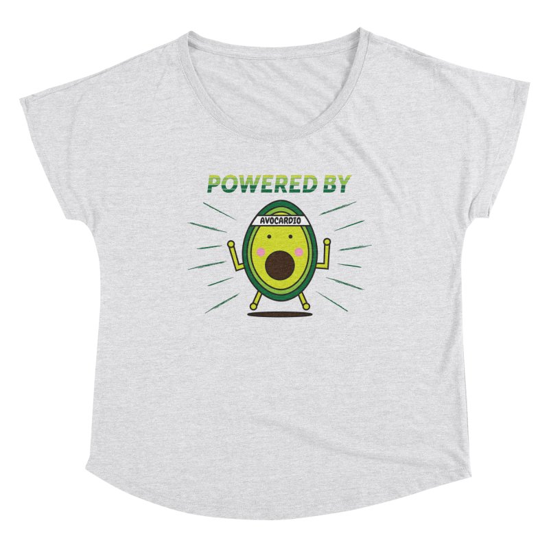 Powered by Avocado Women's Dolman Scoop Neck by Avo G'day!