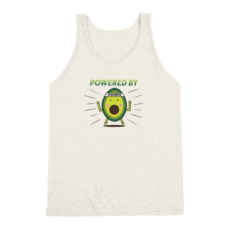Powered by Avocado Men's Tank by Avo G'day!