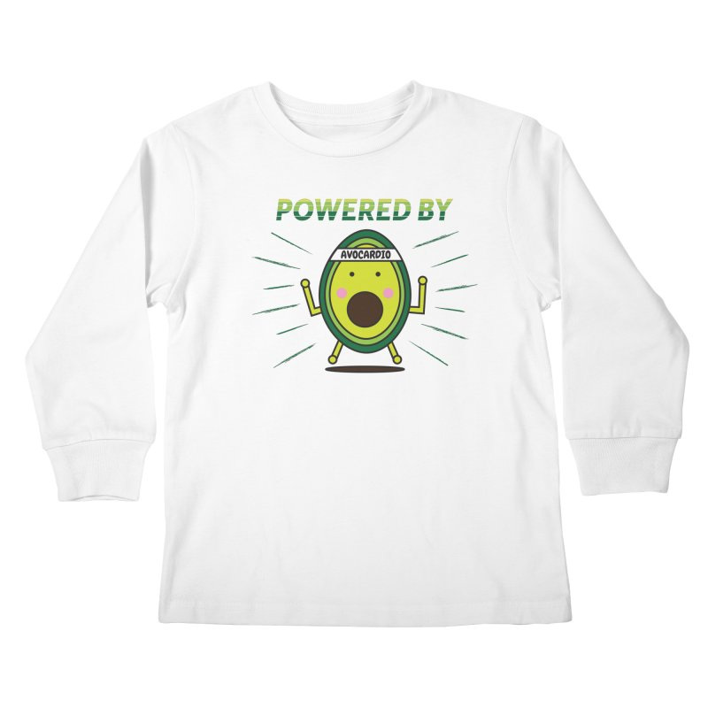 Powered by Avocado Kids Longsleeve T-Shirt by Avo G'day!