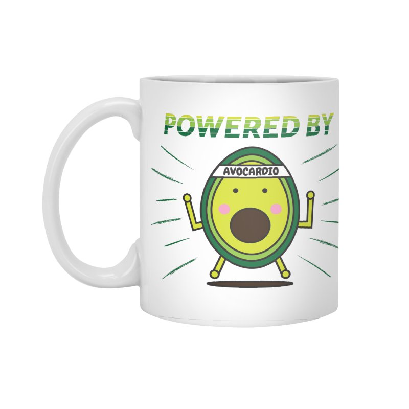 Powered by Avocado Accessories Standard Mug by Avo G'day!