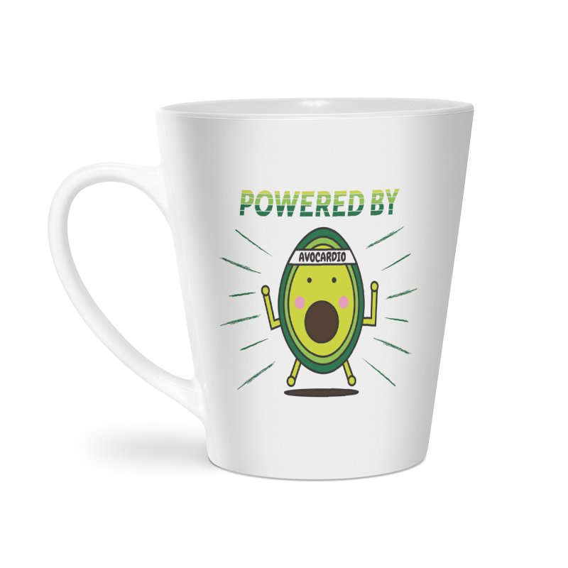 Powered by Avocado Accessories Latte Mug by Avo G'day!