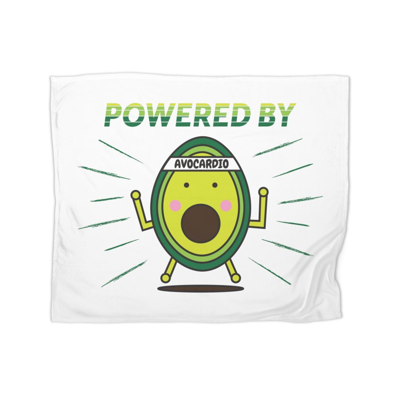 Powered by Avocado Home Blanket by Avo G'day!