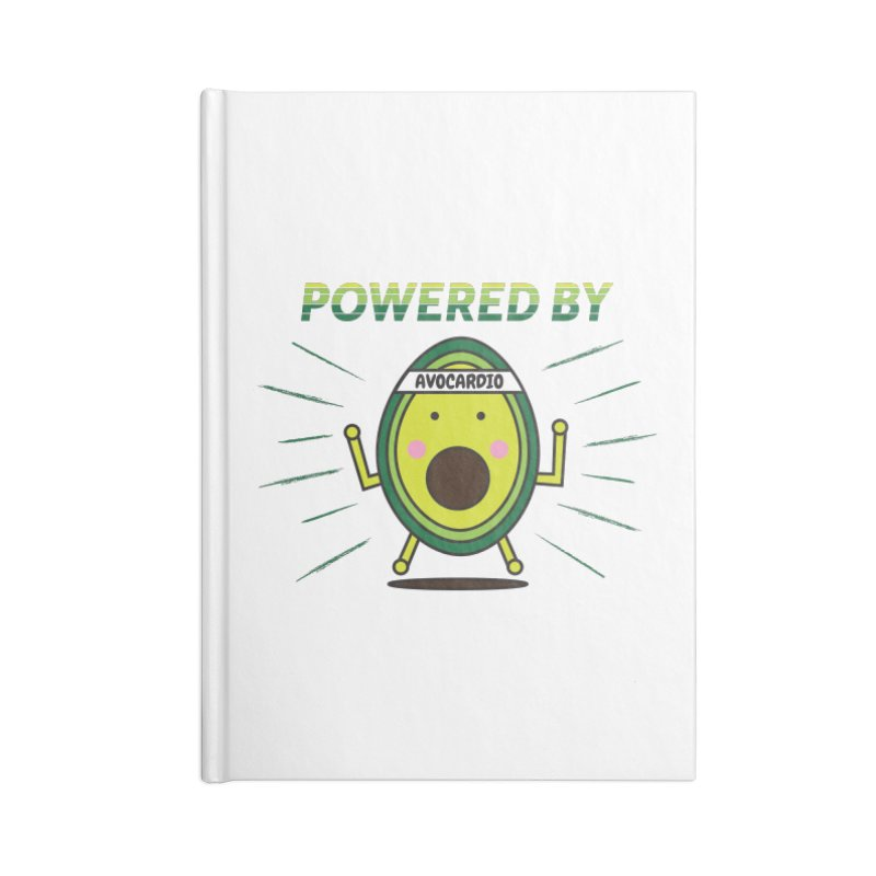 Powered by Avocado Accessories Lined Journal Notebook by Avo G'day!