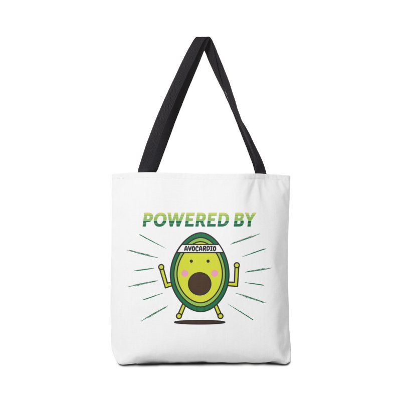 Powered by Avocado Accessories Tote Bag Bag by Avo G'day!