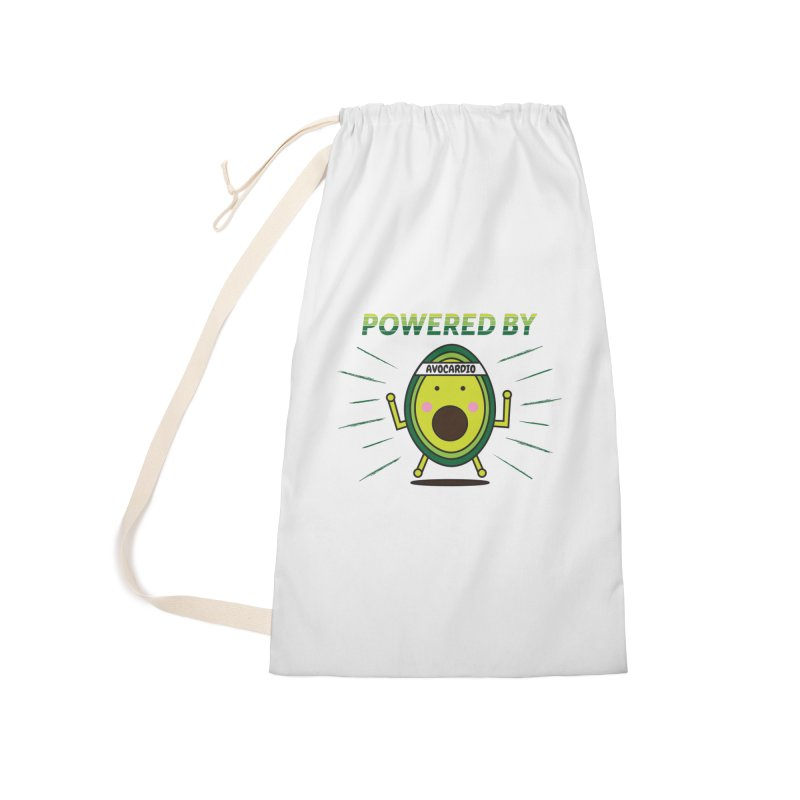 Powered by Avocado Accessories Laundry Bag Bag by Avo G'day!
