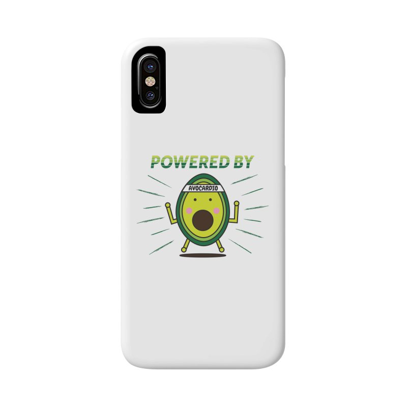 Powered by Avocado Accessories Phone Case by Avo G'day!