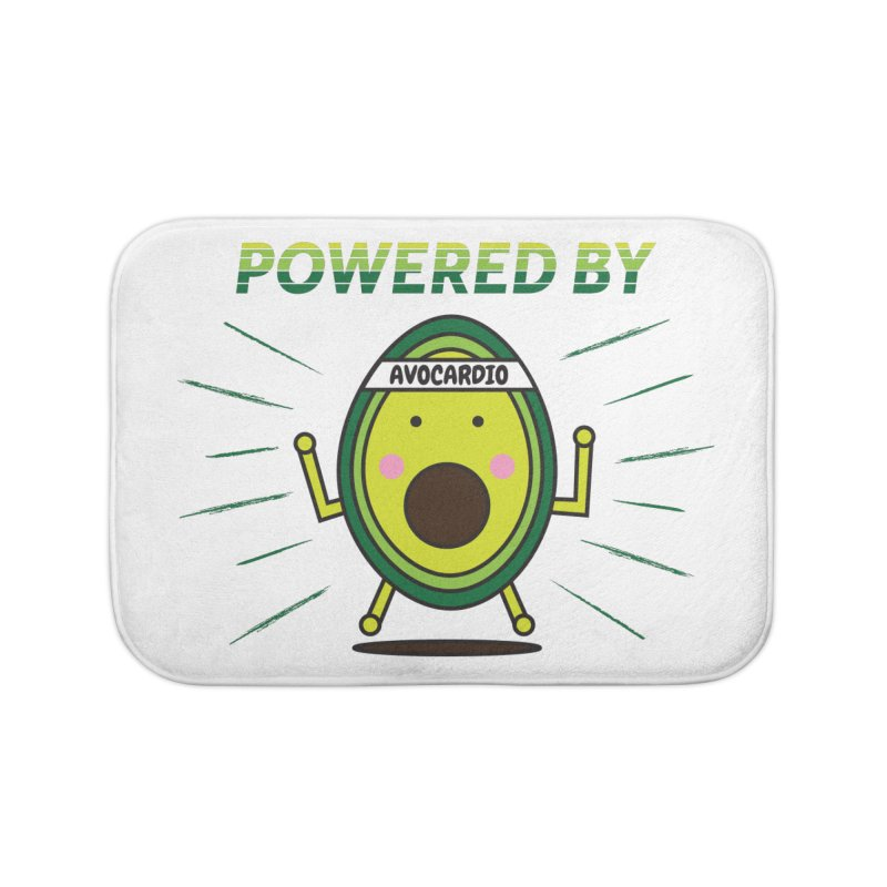 Powered by Avocado Home Bath Mat by Avo G'day!
