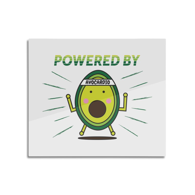 Powered by Avocado Home Mounted Acrylic Print by Avo G'day!