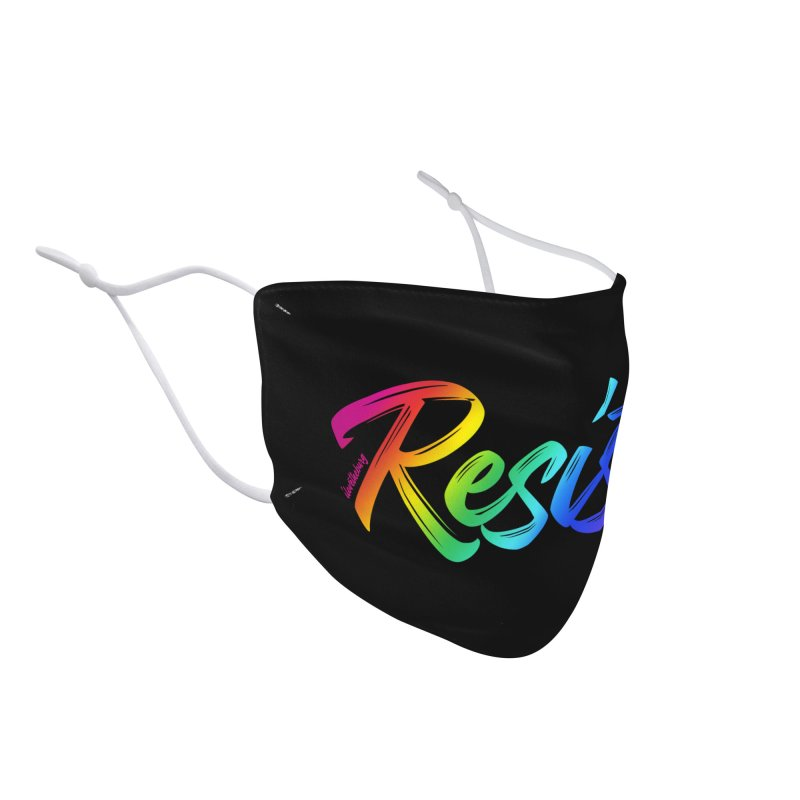 RESIST | ILTB Pride Collection 2019 Accessories Face Mask by I Love the Burg Swag
