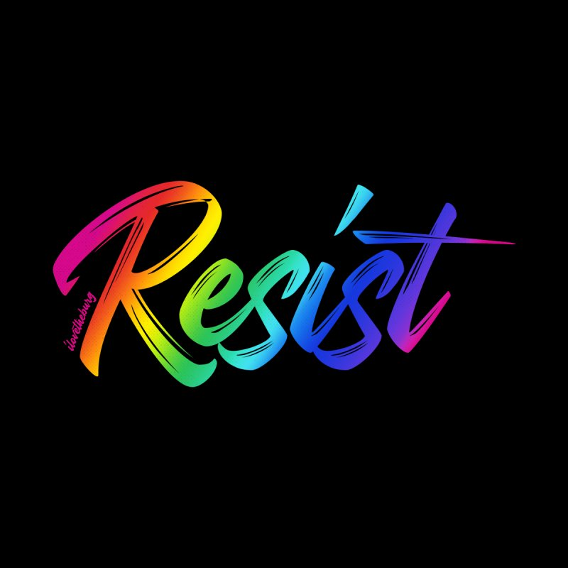 RESIST | ILTB Pride Collection 2019 Men's T-Shirt by I Love the Burg Swag
