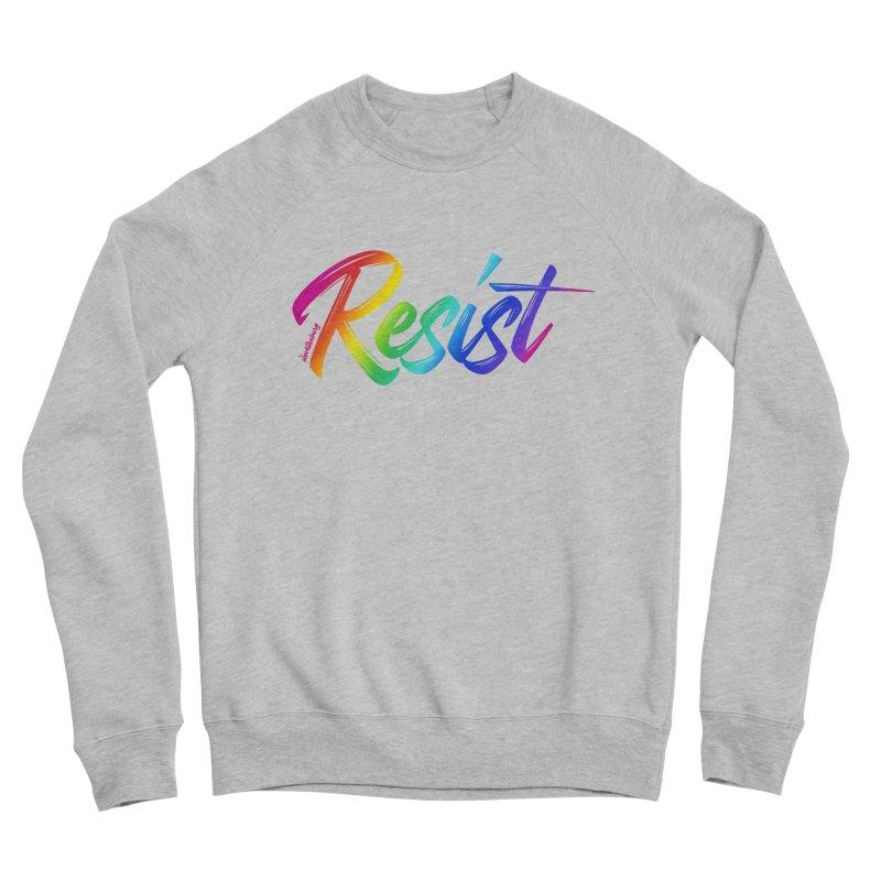 RESIST | ILTB Pride Collection 2019 Men's Sponge Fleece Sweatshirt by I Love the Burg Swag
