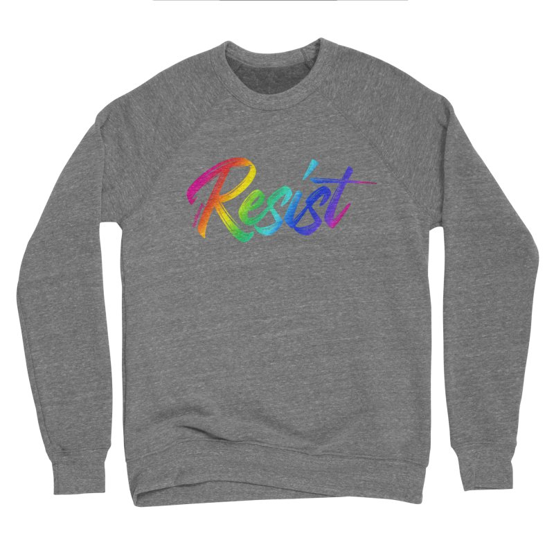 RESIST   ILTB Pride Collection 2019 Men's Sponge Fleece Sweatshirt by I Love the Burg Swag