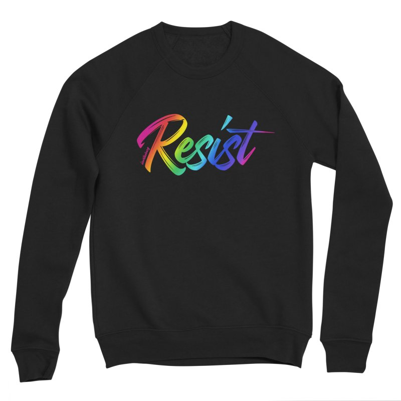 RESIST | ILTB Pride Collection 2019 Men's Sponge Fleece Sweatshirt by I Love the Burg Swag