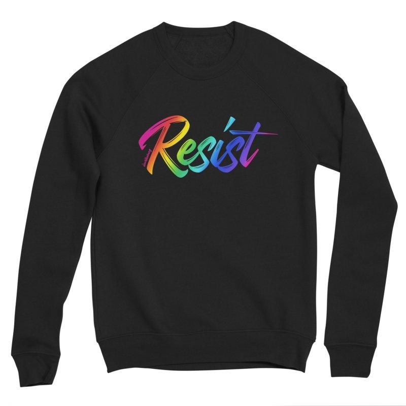 RESIST | ILTB Pride Collection 2019 Women's Sponge Fleece Sweatshirt by I Love the Burg Swag
