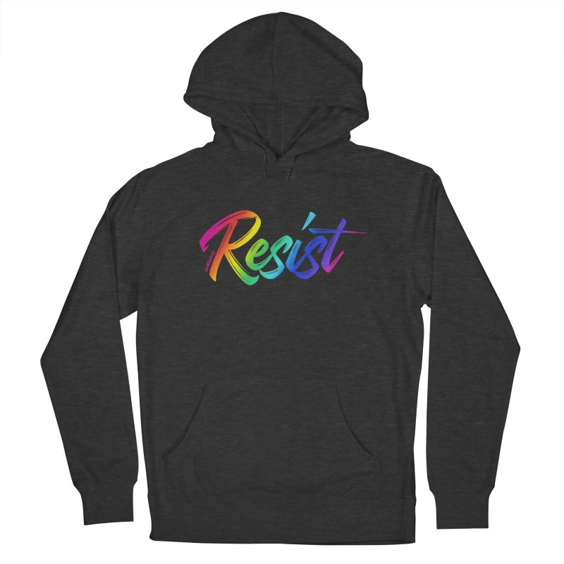 RESIST | ILTB Pride Collection 2019 Women's French Terry Pullover Hoody by I Love the Burg Swag