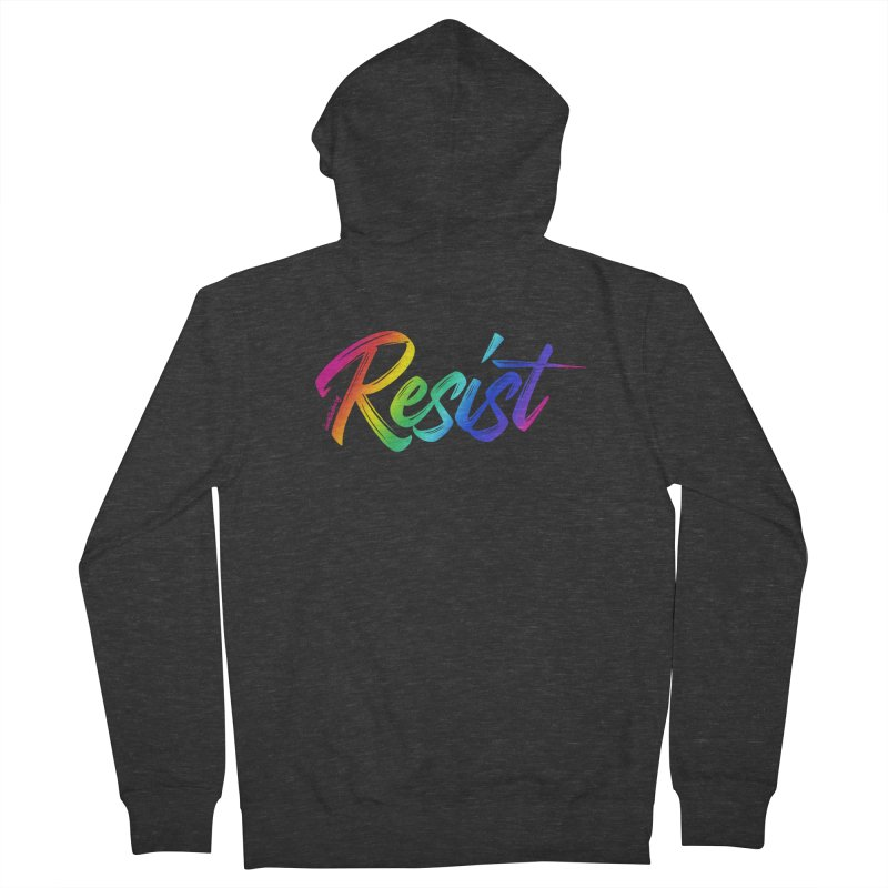 RESIST | ILTB Pride Collection 2019 Women's French Terry Zip-Up Hoody by I Love the Burg Swag