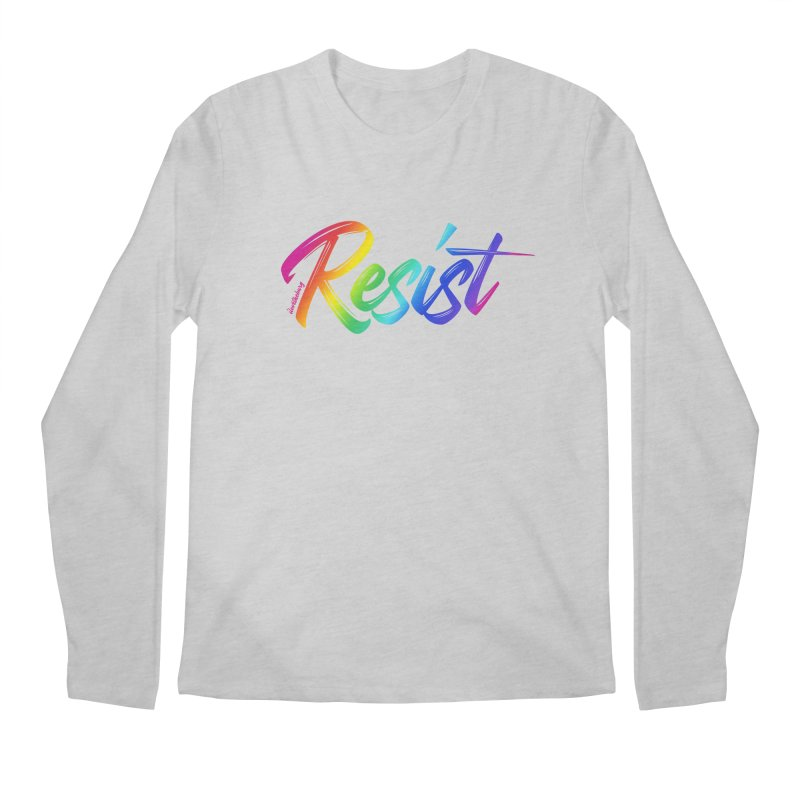 RESIST | ILTB Pride Collection 2019 Men's Regular Longsleeve T-Shirt by I Love the Burg Swag