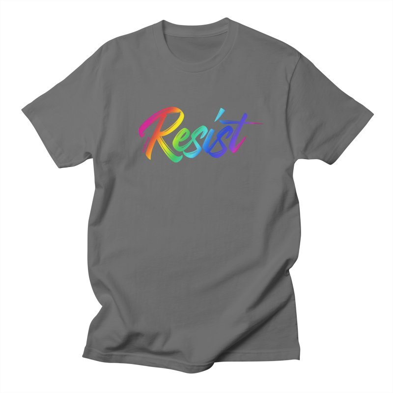 RESIST | ILTB Pride Collection 2019 Men's Regular T-Shirt by I Love the Burg Swag