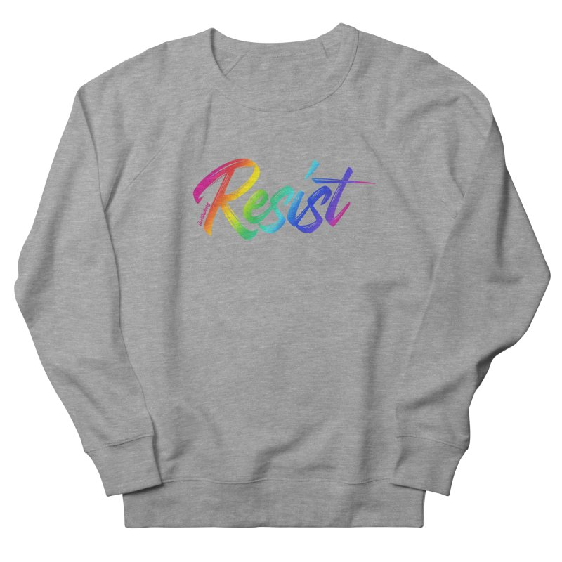 RESIST | ILTB Pride Collection 2019 Men's French Terry Sweatshirt by I Love the Burg Swag