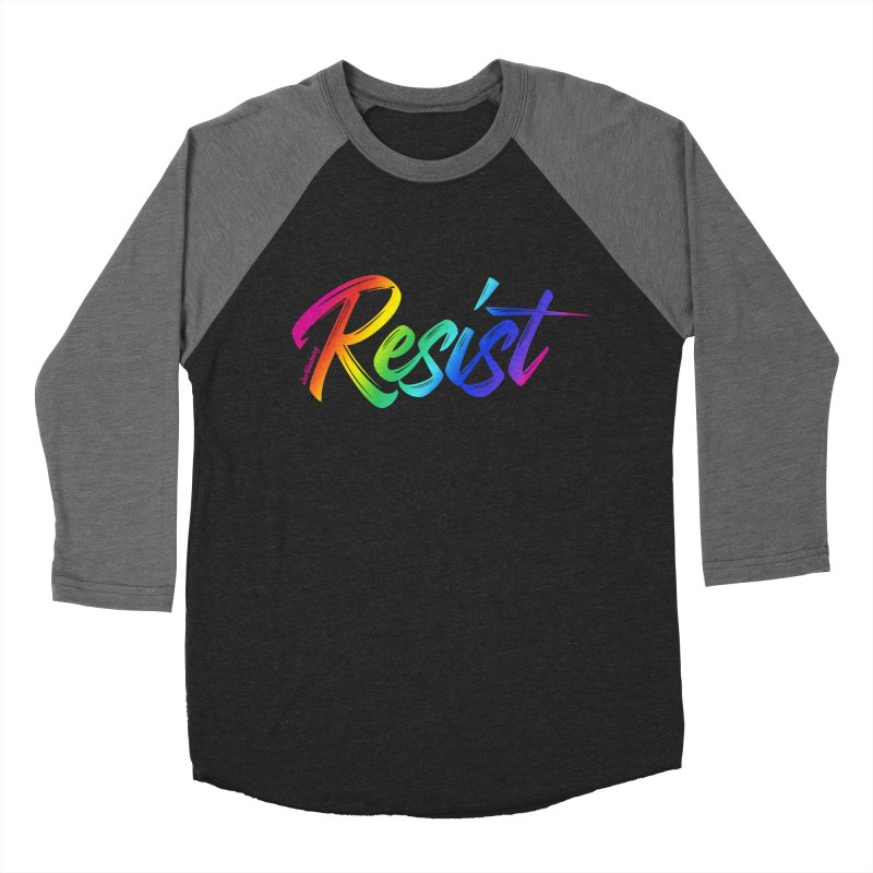 RESIST | ILTB Pride Collection 2019 Women's Baseball Triblend Longsleeve T-Shirt by I Love the Burg Swag