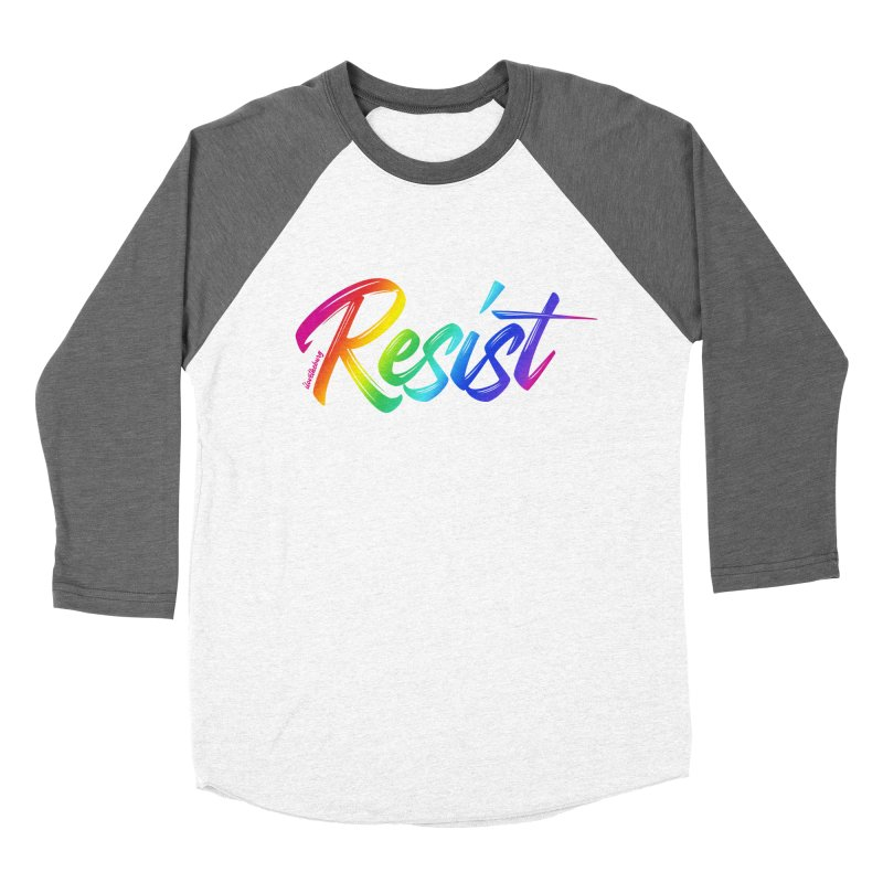 RESIST | ILTB Pride Collection 2019 Men's Baseball Triblend Longsleeve T-Shirt by I Love the Burg Swag
