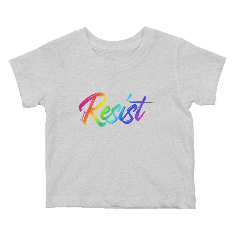 RESIST | ILTB Pride Collection 2019 Kids Baby T-Shirt by I Love the Burg Swag